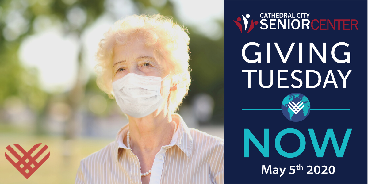 Giving Tuesday Cathedral City Senior Center