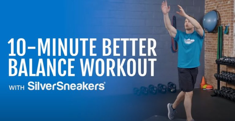 10-Minute Better Balance Workout