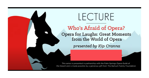 Who's Afraid of Opera: Part 1