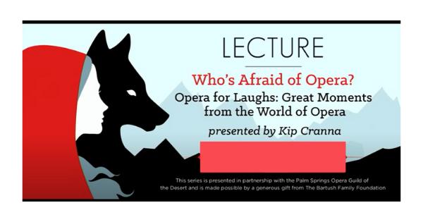 Who's Afraid of Opera: Part 1