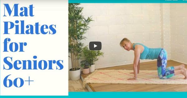 Mat Pilates For Seniors