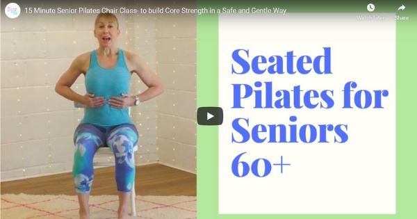 Chair Pilates ForSeniors