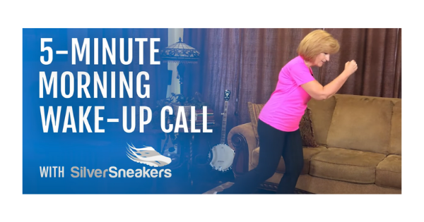 Read more about the article Silver Sneakers: 5-Minute Monday Morning Wake-Up Call