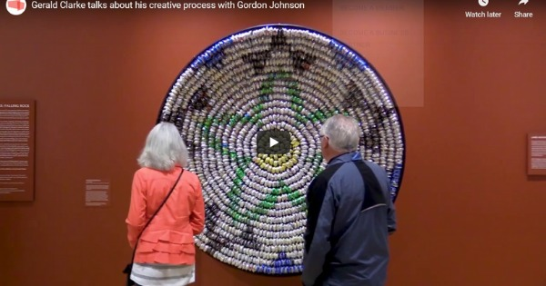 Gerald Clarke Talks About His Creative Process with Gordon Johnson