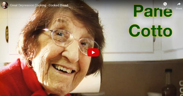 Great Depression Cooking – Cooked Bread