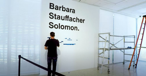 Read more about the article PS Art Museum:  Mural Timelapse – Barbara Stauffacher Solomon
