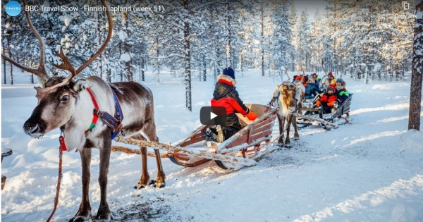 Read more about the article BBC Travel Show – Finnish Lapland