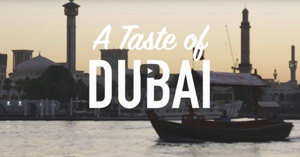 BBC Travel:  A Taste of Dubai