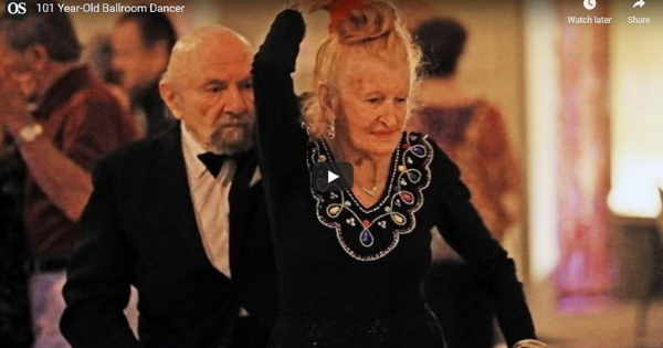 Read more about the article Interesting Folk Friday – 101-Year Old Ballroom Dancer