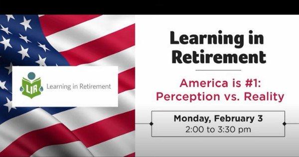 Learning in Retirement:  Perception vs. Reality