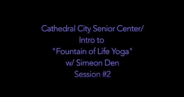 Yoga Ch'i With Simeon Den – Yoga #2
