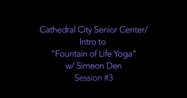 Yoga Ch'i With Simeon Den – Yoga #3