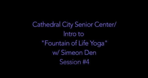 Yoga Ch'i With Simeon Den – Yoga #4