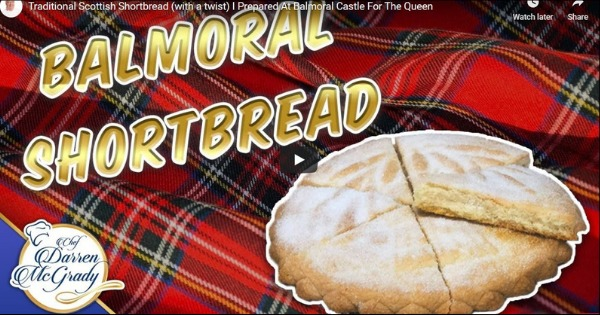 Read more about the article Darren McGrady Cooking for the Queen – Scottish Shortbread