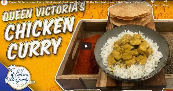 Darren McGrady Cooking for the Queen – Chicken Curry