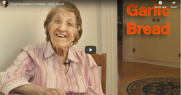 Read more about the article Great Depression Cooking – Garlic Bread