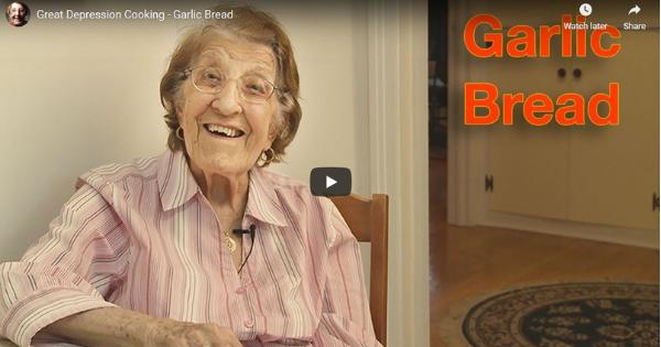 Great Depression Cooking – Garlic Bread