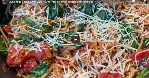 Read more about the article One Pot Pasta With Spinach and Tomatoes