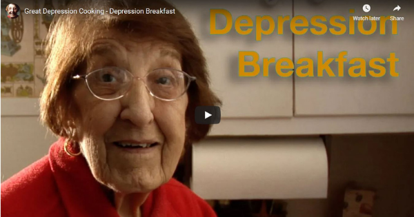 Read more about the article Great Depression Cooking – Breakfast