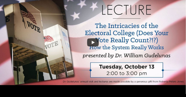 Read more about the article The Intricacies of the Electoral College Part 1: How the System Really Works