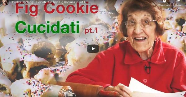 Cucidati – Sicilian Fig Cookies – Part I