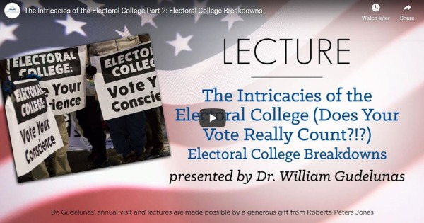 The Intricacies of the Electoral College Part 2: Electoral College Breakdown