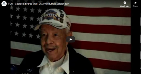Read more about the article POW – George Edwards WWII US Army Buffalo Soldier Italy