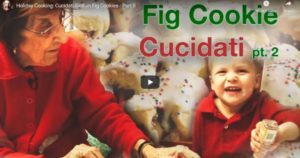 Read more about the article Cucidati – Sicilian Fig Cookies – Part 2