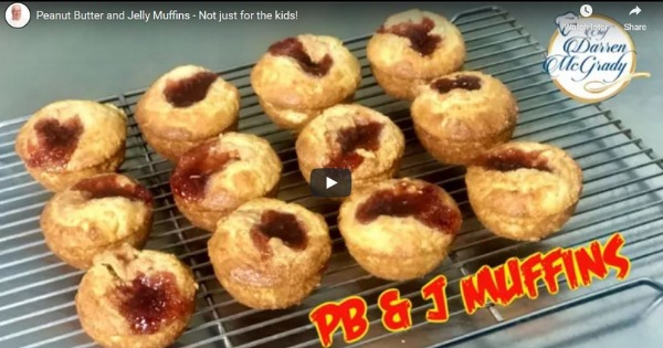 Peanut Butter and Jelly Muffins – Not just for the kids!