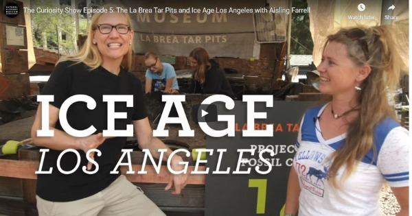 The La Brea Tar Pits and Ice Age Los Angeles with Aisling Farrel