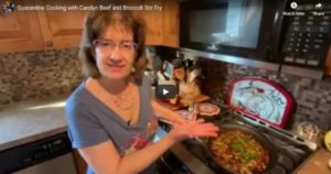 Read more about the article Quarantine Cooking with Carolyn – Beef and Broccoli Stir Fry
