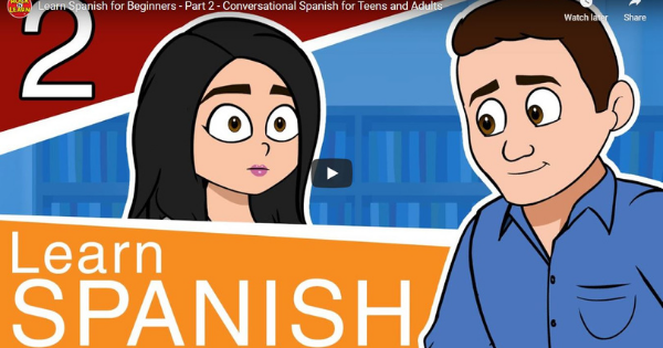 Spanish For Beginners – Lesson 2