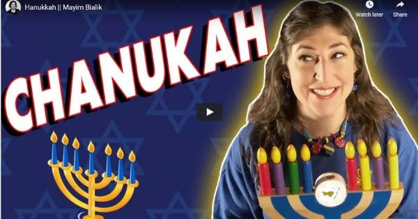 Hanukkah by Mayim Bialik