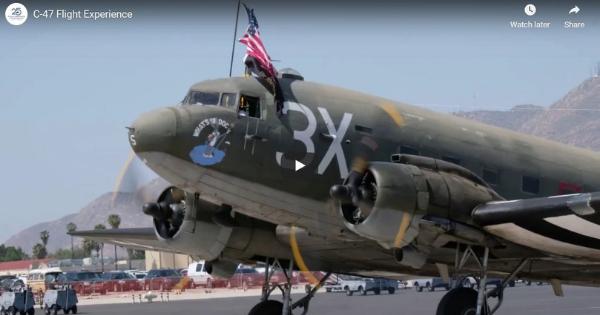 C-47 Flight Experience