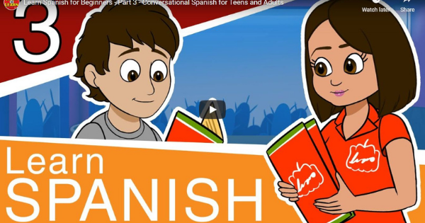 Spanish For Beginners – Lesson 3
