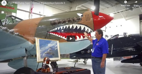 Warbird Wednesday Episode 3: P-40 Flying Tiger