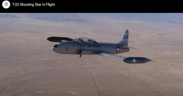 Flight Experience  T-33 Shooting Star
