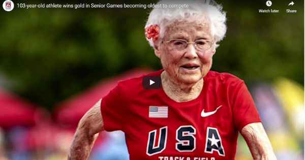 103-Year-Old Athlete Wins Gold