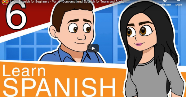Spanish For Beginners – Lesson 6