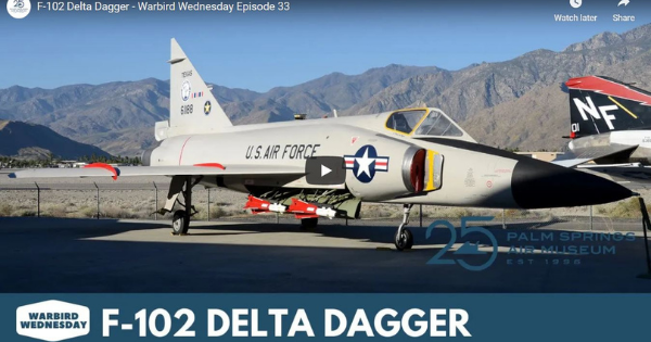 Read more about the article F-102 Delta Dagger