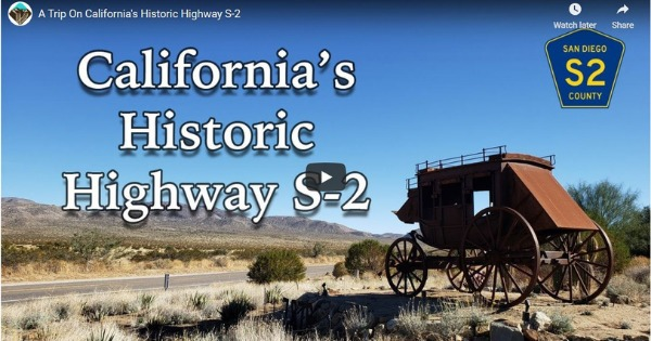 A Trip On California's Historic Highway S-2