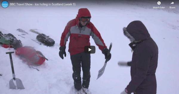 Ice Holing in Scotland