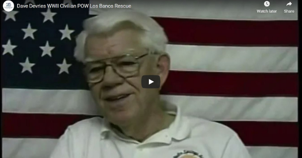 Read more about the article Dave Devries WWII Civilian POW Los Banos Rescue