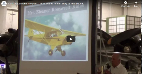 Read more about the article The Tuskegee Airmen Story by Rusty Burns