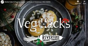 Mulled Cider & Poached Apples   12 Hacks of Christmas