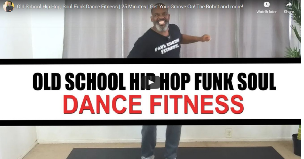 Old School Hip Hop, Soul Funk Dance Fitness | 25 Minutes