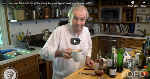Jacques Pépin's Cocktail Recipes
