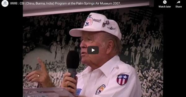 Read more about the article WWII : CBI (China, Burma, India) Program at the Palm Springs Air Museum