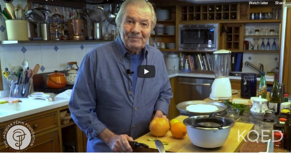 Candied Orange Peel with Chocolate | Jacques Pépin Cooking At Home