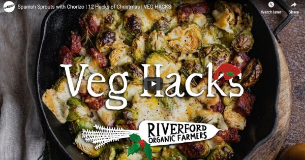 Spanish Sprouts with Chorizo | 12 Hacks of Christmas